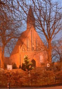 Die St.-Johannes-Kirche ist die evangelische Pfarrkirche von Rambin.